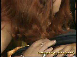 Duits rood hoofd pickup voor porno film