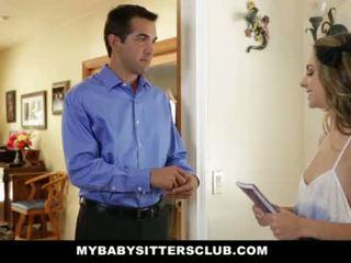 Mybabysittersclub - baysitter escorte geneukt vervolgens hired <span class=duration>- 10 min</span>