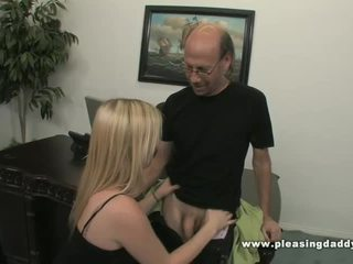 office sex, old and young, daddy