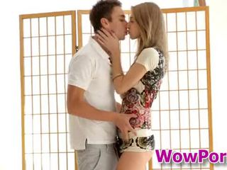 Amazingly Mainit tinedyer anjelica blows a titi at gets fucked