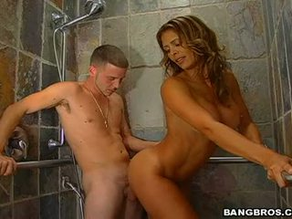 Steamy Sexy Monique Fuentes Stuffs Her Throat With A Thick Shaft And Enfuns It