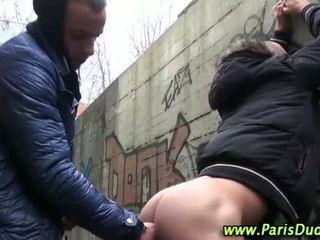 Euro amatér gayové venkovní kohout sát