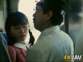 Girl Gets Groped On A Train