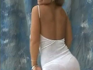 Christina modelka duży bouncing nastolatka cycuszki