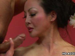 shaved pussy, big tits, mature