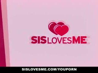 Sislovesme - pas sister looks draguta când ea rides mea penis