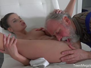 Teenmegaworld -old N Young- Old Man Cums into a Fresh