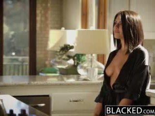 BLACKED Brunette Adriana Chechik Takes Trio of BBCs