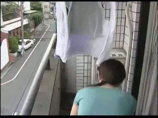 japānas, mājsaimniece, milf