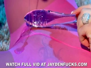 A Glass Rubber Toy Is All Jayden Jaymes Wants