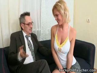 Alunas fucks professor para passing grau