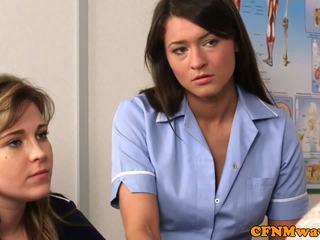 Cfnm verpleegster nadia elainas patiënt cums