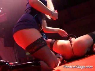 Porno par posms lesbiete stripper