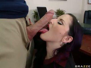 veľký péro, kancelária sex, súložiť