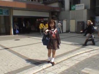 יפני, מציצן, בחורה חובבנית