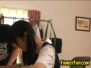 Young Asian Step Sister