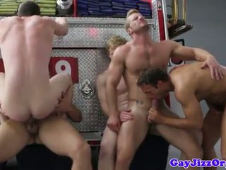 gruppesex, gay, muskel