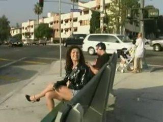 Alex Arden nude in public