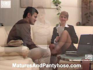 Martha And Sebastian Mature Stockings Mov