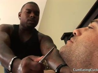 Hubby tied un teased kamēr kimberly enjoys a bbc