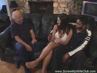 Hotwife swings -ban front a férj igen