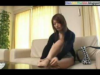 japoński, dokuczanie, prysznic