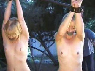outdoors, bondage