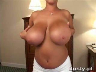 striptease, mega big tits, milf
