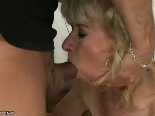 hardcore sex, old, grandma