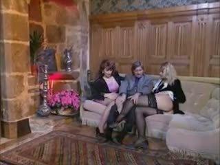 french, threesomes, vintage