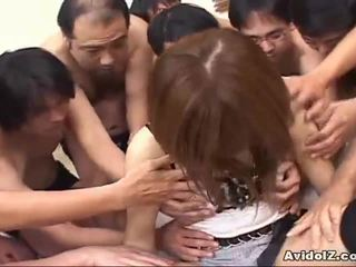 Japonais nana touched par beaucoup men uncensored