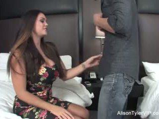Alison tyler fucks αυτήν φίλος