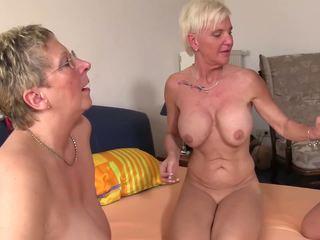 gruppen-sex, grannies, reift