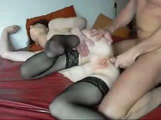 Guy en lelijk oma eerste anaal