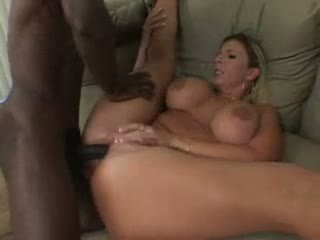 Sara Jay is fucked by a big black cock