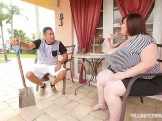Besar dada wanita gemuk cantik lexxxi luxe fucks itu latino gardner