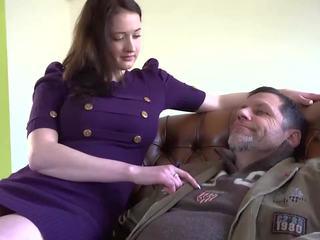 Grandpa Fucking Teen with Beautiful Big Boobs Job: Porn 7a