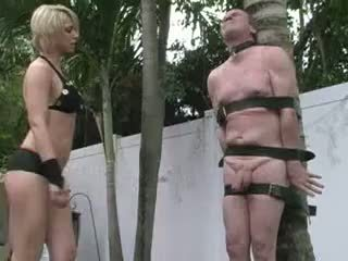 domina, cock torture