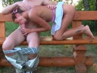 brunette, babe, outdoor