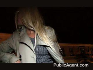 Publicagent - blondýnka máma jsem rád šoustat dostat fucked pro hotovost