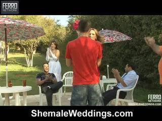 Heiß shemale weddings mov starring senna, alessandra, patricia_bismarck