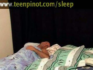 obciąganie, laski, sleep