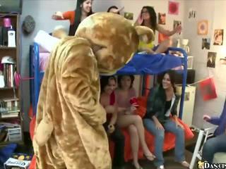 College Girls Suck Male Stripper's Cock, Porn cc