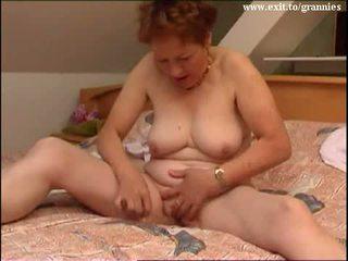 امرأة سمراء, استمناء, قديم