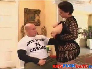 Bbw nainen rides ja naida guy
