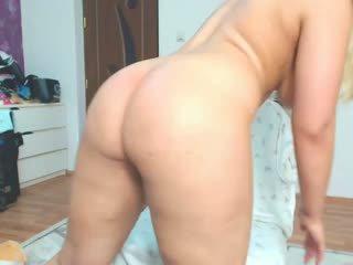 cô gái tóc vàng, big butts, hậu môn