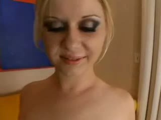 Aaralyn barra - blondīne ir practicing par the creampie olinpic