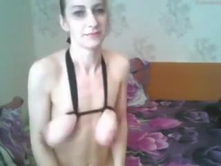 skinny, webcams, big natural tits