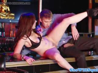 Red Head Babe Squirts While Being Fingered: Free HD Porn 9e