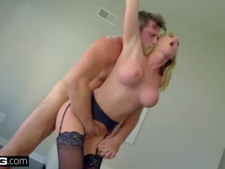 Bang Gonzo - Brett Rossi Milf Pussy Deep Dicked by a Big Cock